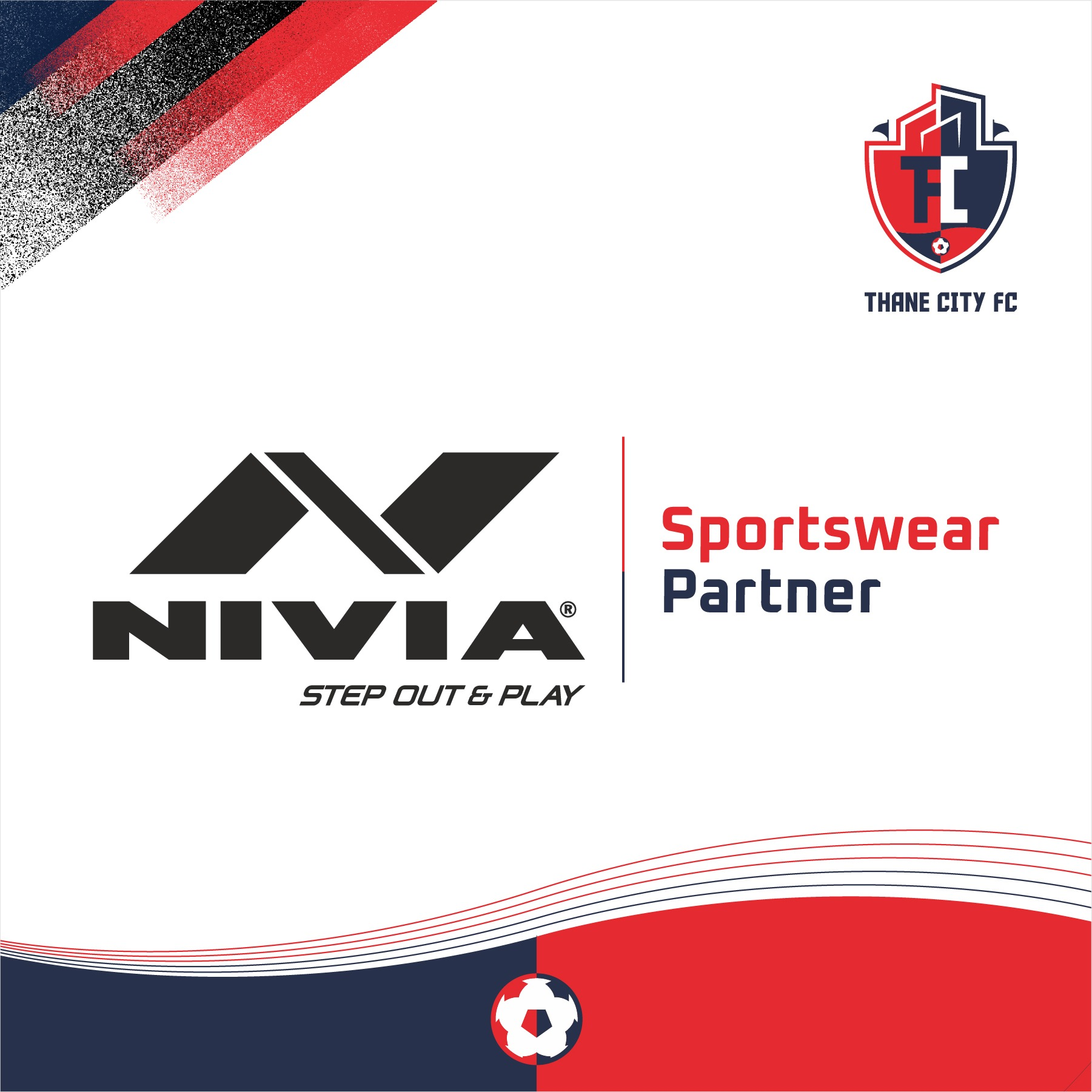 Thane City FC Partners With Nivia Sports In A Two Year Deal